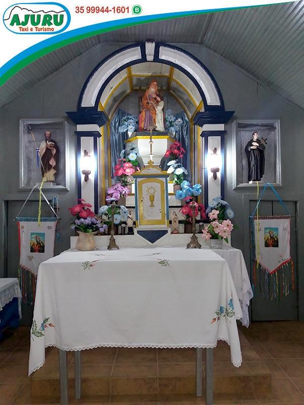 Capela Santa e São Joaquim - Guapiara - Aiuruoca-MG